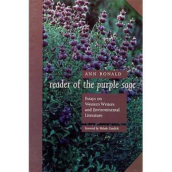 Lecteur du sage pourpre-essais sur les écrivains occidentaux et l'environnementa