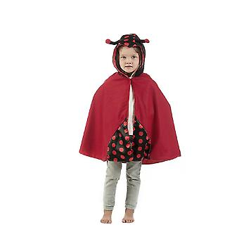 Cape costume pour enfants du Cap enfants du manteau coccinelle pour enfants