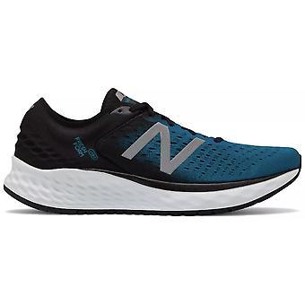 New Balance 1080v9 Mousse fraîche Mens D largeur route chaussures de course Deep ozone bleu