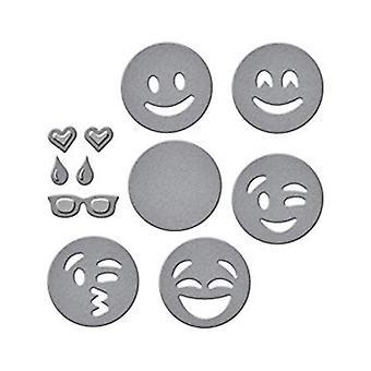 Spellbinders Die D-Lites emojis (S1-007)