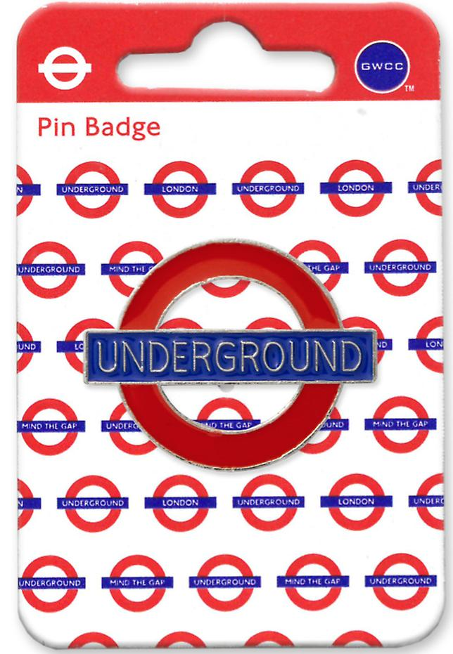 Tfl™7001 licensed underground roundel™ pin badge
