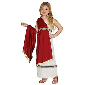 Meisjes Romeinse Toga Fancy Dress kostuum