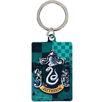 הארי פוטר-מחזיק מפתחות מתכת סלית'רין