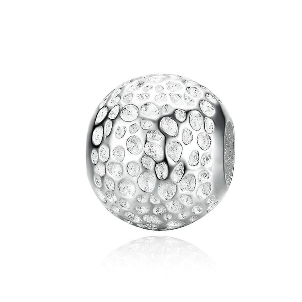 Sterling silver charm Round shape