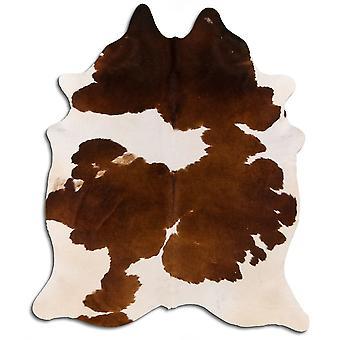 Aito lehmän nahka 0035 ruskea ja valkoinen 3-5 M Grade A