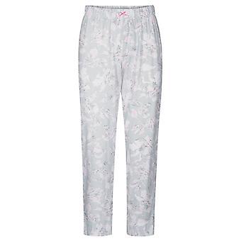 Rösch 1884152-11913 Dámské a pos;s Smart Casual Každodenní Šedá květinová bavlna pyžama Pant