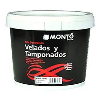 Monto 黒い Velato nacar プラタ (DIY、塗装)