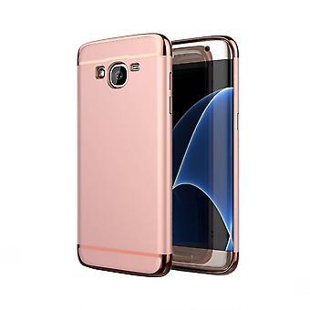 Samsung J5 Kotelot Vaaleanpunainen Kulta BackCover 3 in 1