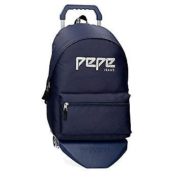 Pepe Jeans Uma Mochila - 42 cm - 22.79 litros - Azul 63923N5