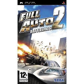 Full Auto 2 Battlelines (PSP) - New