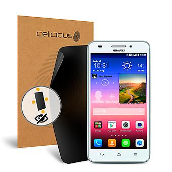 Celicious de confidențialitate plus 4-Way Anti-Spy filtru ecran protector film compatibil cu Huawei Ascend G620s