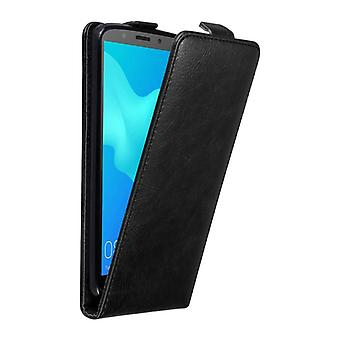 Cadorabo Case for Huawei Y5 2018 Case Cover - Phone Case in Flip Design with Magnetic Closure - Case Cover Case Case Case Case Case Book Folding Style