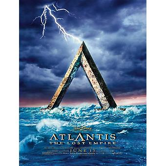 Atlantis (Double Sided Advance) (2001) Original Cinema Poster