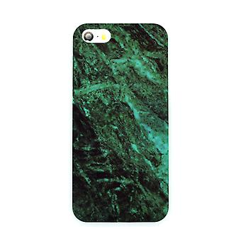 Iphone 5/5S/SE Marble Cover Case Green