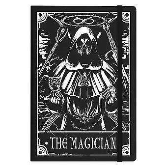 Deadly Tarot The Magician A5 Hard Cover Notebook