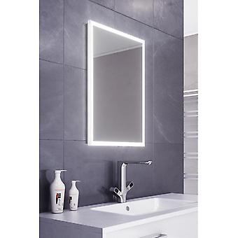 Leanna Slimline Edge LED badrum spegel & Demister Pad & Sensor k470