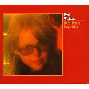Paul Williams - Here Comes Inspiration [CD] USA import