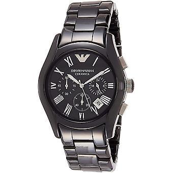 Emporio Armani Ceramica AR1400 Chronograph Quartz Men ' s Watch