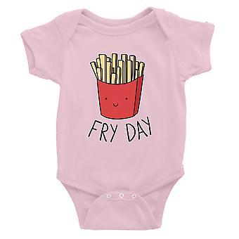 365 Impression Fry Day Baby Bodysuit Cadeau Rose Pour Baby Boy Bébé Bébé Jumpsuit