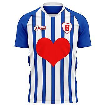 2020-2021 Heerenveen Home Concept Football Shirt