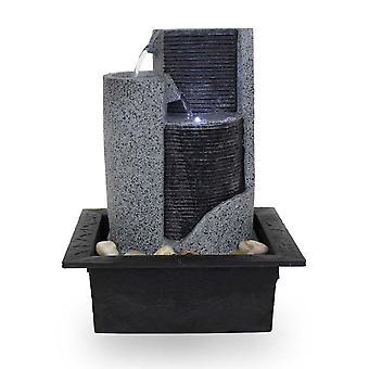 Habitación Fuente Tischbrunnen Deco Fuente FoParete 27.5 cm LED 10909