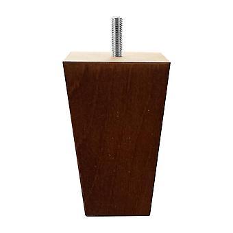 Tapse Kirsche Holzmöbel Bein 12 cm (M8)