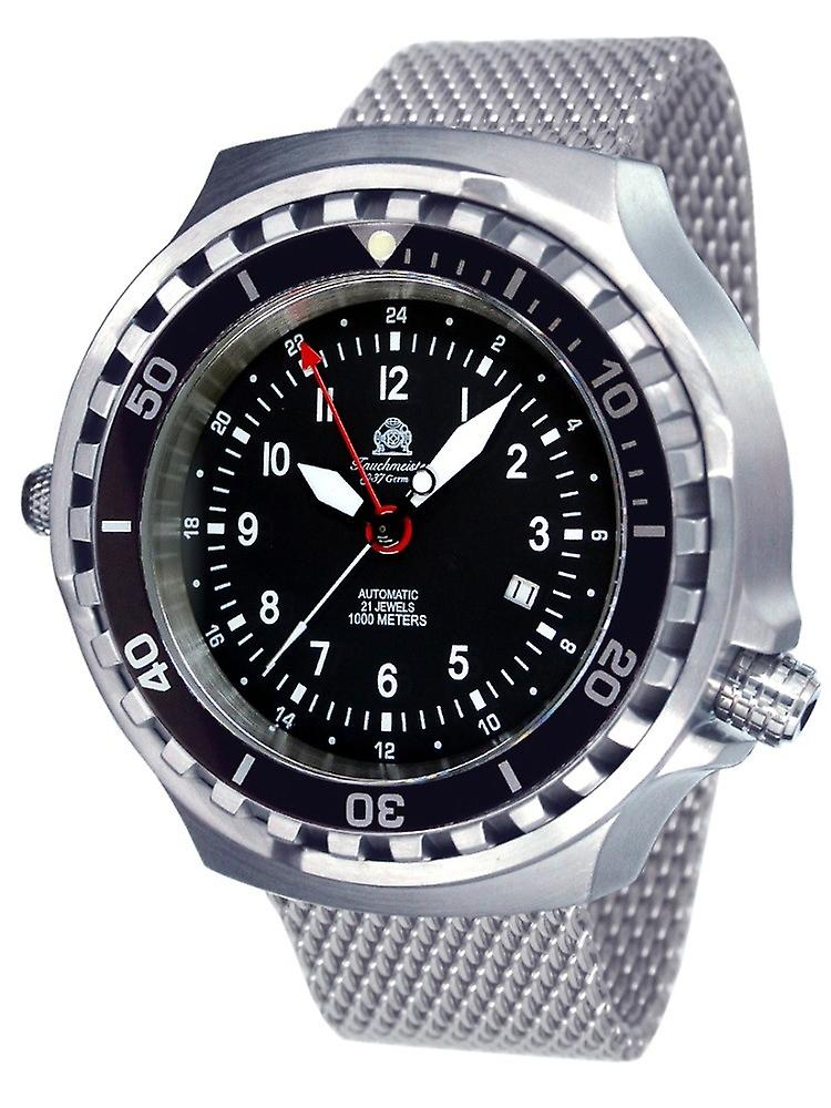 Tauchmeister Xxl Automatic Dive Watch With T0308mil Milanese Band