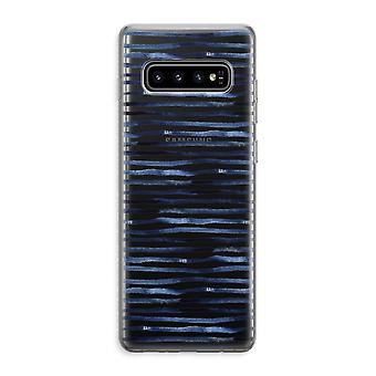Samsung Galaxy S10 Plus Custodia trasparente (Soft) - Linee sorprendenti