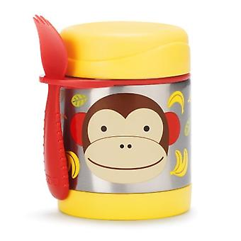 Skip Hop Food Jar Thermos Monkey