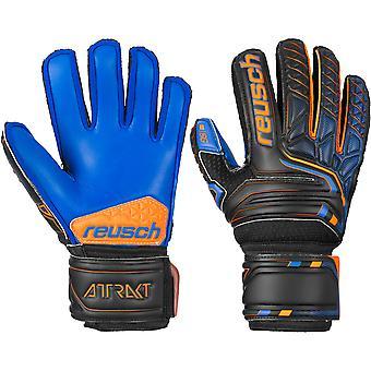 Reusch Attrakt SG Extra Finger Support Junior Goalkeeper Gloves