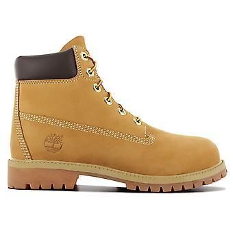 Timberland Premium 6IN Waterproof Boot 12909 Women's Winter Boots Beige Sneaker Sports Shoes