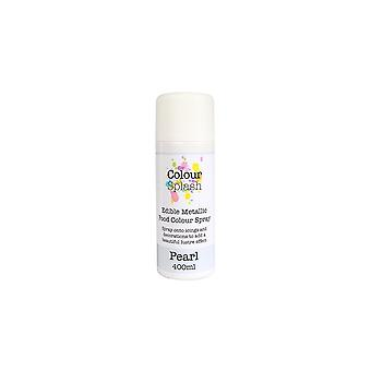 Kleur splash eetbare voedsel kleur spray Pearl 400ml
