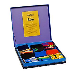 Happy Socks Limited Edition The Beatles Collector Box Set - 6 Pack