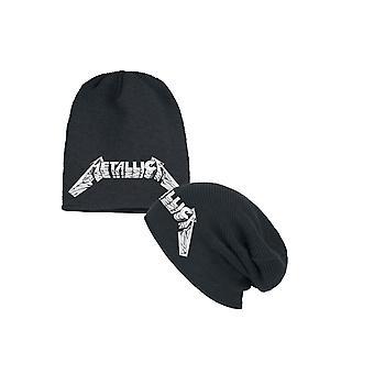 Metallica Beanie chapeau maître de marionnettes noir Slouch nouveau officiel noir