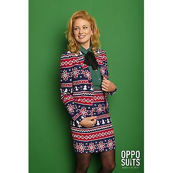 Nordic Noelle Winter Suit Norsko Dámské kostýmopposuit Slimline 2-kus Premium