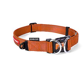 Ezydog Collar Doubleup Naranja Fluo (Dogs , Collars, Leads and Harnesses , Collars)