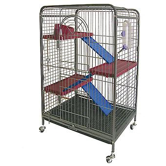 Ica Ferrets cage 3Alt 64X44X93 (Small pets , Cages and Parks)