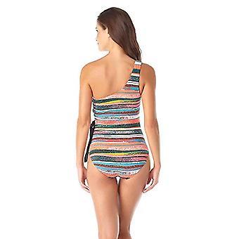 آن كول النساء & s الكتف قطعة واحدة ملابس السباحة، والمياه، والشريط، والحجم 16.0
