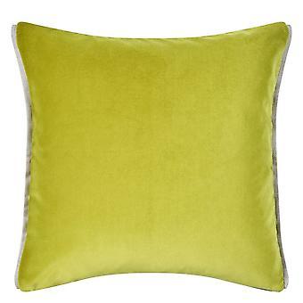 Diseñadores Gremio Varese Plain Cojín en verde lima