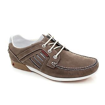 Grisport Clipper Brown båt sko