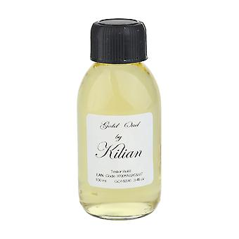 Kilian 'Gold Oud' Eau De Parfum 3.4 oz / 100 ml Refill, Brand New,Brown Box