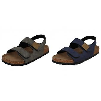 JCDees Boys Leather Slingback Sandals