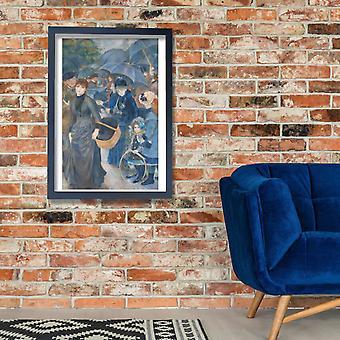 Pierre Auguste Renoir - The Umbrellas Poster Print Giclee