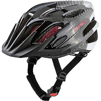 Alpina FB Junior 2.0 kask rowerowy dla dzieci / / czarny/biały/czerwony