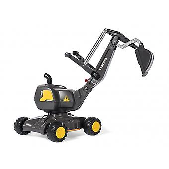 Rolly Toys Licensed Volvo Mobile 360 Degree Excavator Black