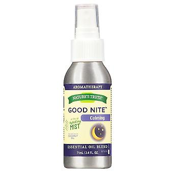 Nature's truth calming mist spray, good nite, 2.4 oz