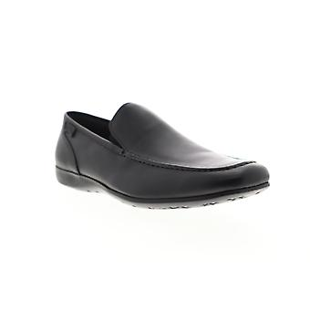 Camper Mauro  Mens Black Leather Casual Slip On Loafers Shoes