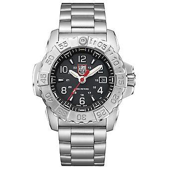 Luminox Navy SEAL staal 3250 serie Stainless Steel heren horloge XS.3252