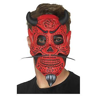 Tag der Toten Teufel Maske Erwachsene