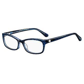 Kate Spade Lizabeth S6F Blue Pattern Glasses